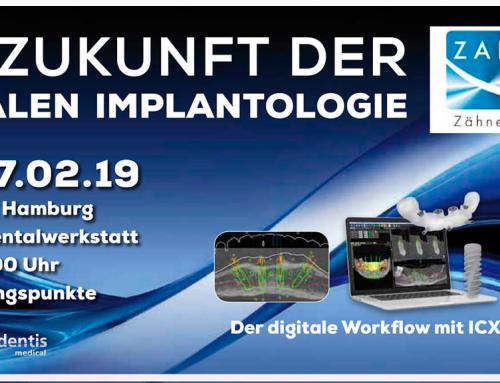 Zahn Art Veranstaltung 27.02.2019: Die Zukunft der digitalen Implantologie
