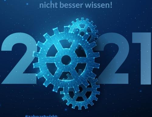 2021 – Mehr Bessermacher, weniger Besserwisser!